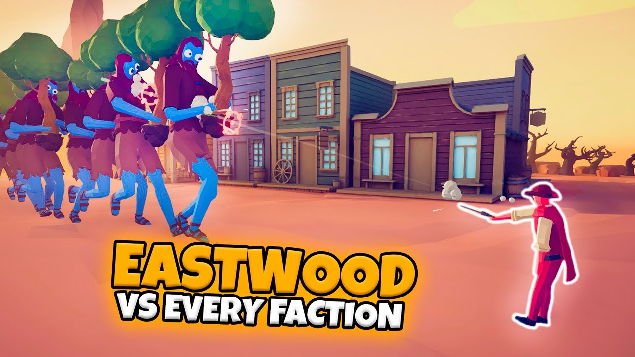 EASTWOOD VS EVERY FACTION | TABS MODDED GAMEPLAY