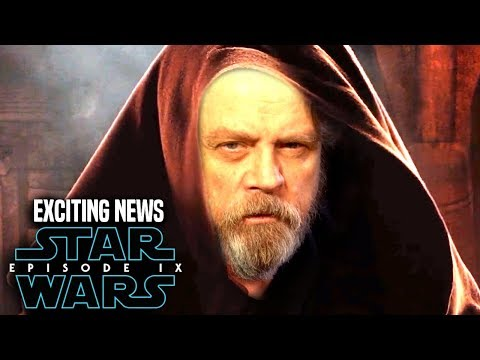 Star Wars Episode 9 Mark Hamill! Exciting News Revealed (Star Wars News)