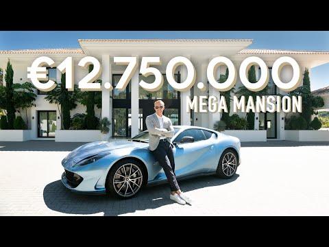 Touring a €12.750.000 Luxury Modern Villa in La Zagaleta, Marbella | Drumelia Real Estate Tour #3