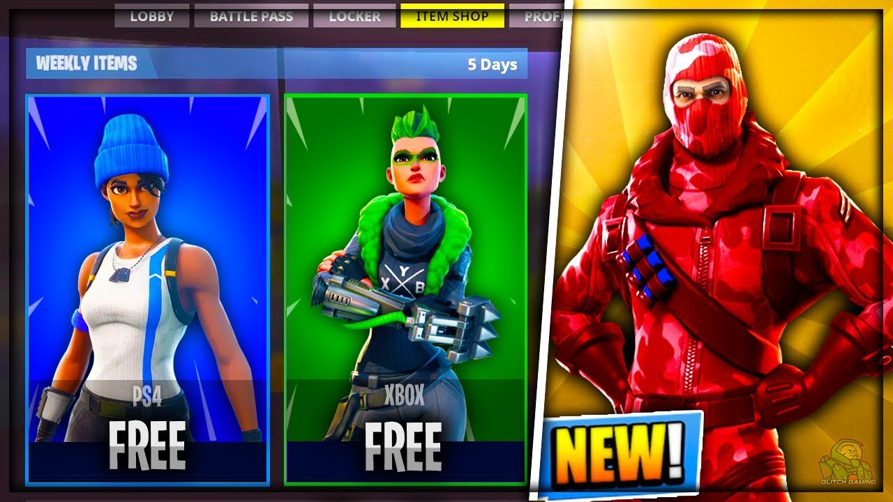 How to get all the skins in fortnite for free xbox one