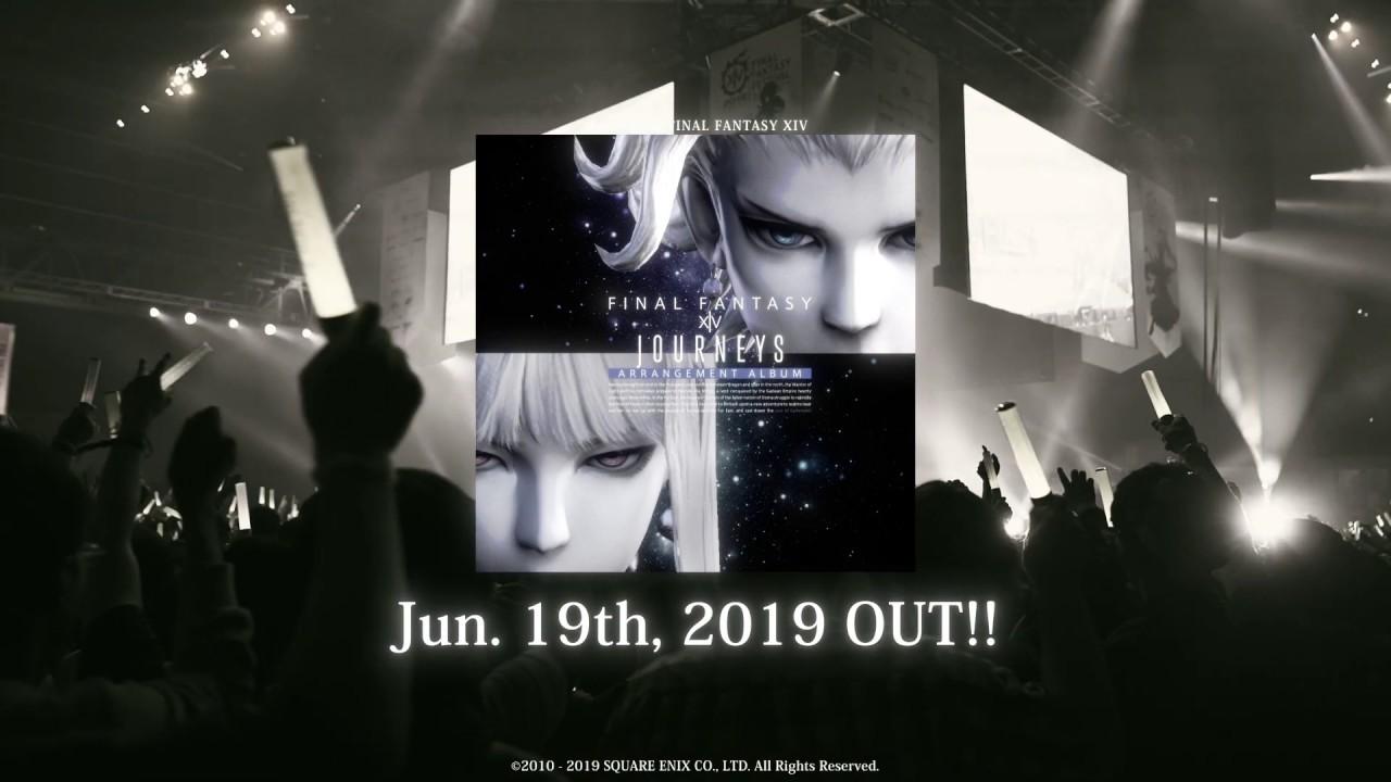 『Journeys: FINAL FANTASY XIV Arrangement Album』店頭用PV