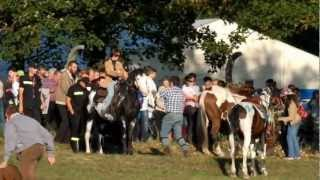 HUBERTUS - 2012 w KROWIARKACH - Konkurs trzech beczek...
