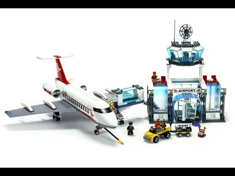 Lego city a roport avion passagers lego jouets pour - Avion de chasse en lego ...