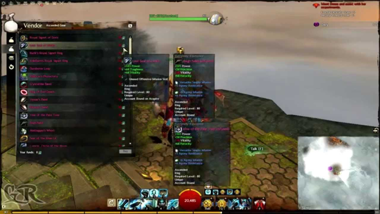 Guild Wars 2 Fractal Tip Gold Saver On Bags Youtube