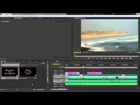 Premiere Pro CS6 Techniques: 36 Titles 4: Exporting Titles
