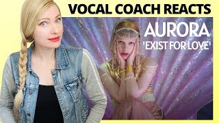 Gambar cover Vocal Coach Reacts: AURORA 'Exist For Love' Official Video