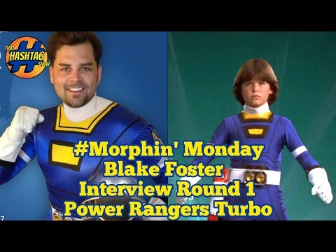 Blake Foster Interview: Round 1 | Power Rangers Turbo | Morphin' Monday