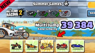 Hill Climb Racing 2 - 39384 points in SUMMER GAMES Team Event