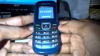 Reset Samsung GT-E1200T