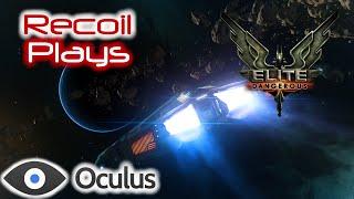 Elite Dangerous: Oculus Rift Asteroid Belt Combat! KKRipper Plays