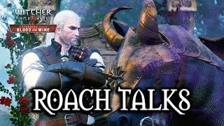 The Witcher 3: Blood and Wine - Roach Talks! :)