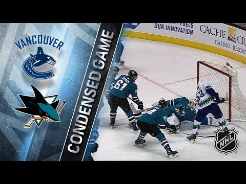 Vancouver Canucks vs San Jose Sharks – Feb. 15, 2018 | Game Highlights | NHL 2017/18. Обзор