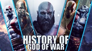 History of god of war (2005-2017)