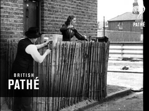 Your Home As An Air Raid Shelter 1940 Youtube
