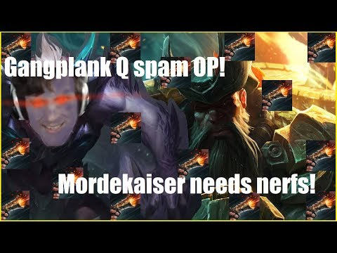 Hashinshin: Morde.. Counters Gangplank? (GP Is Still Overpowered Though)