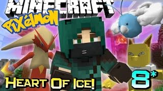 1v1 ME DAD! | Minecraft PIXELMON Heart Of Ice Adventure! Custom Map Ep 8
