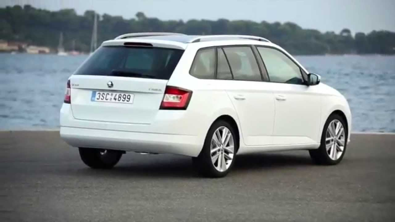 skoda fabia iii combi 2015 youtube. Black Bedroom Furniture Sets. Home Design Ideas