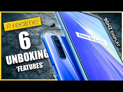 Realme 6 Unboxing and Review | English