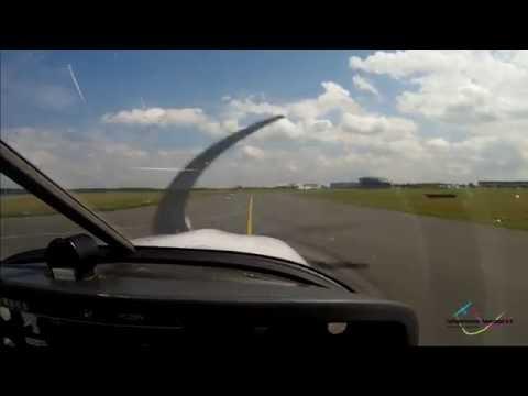VFR Flight EDKW to EDLP - Robin R3000