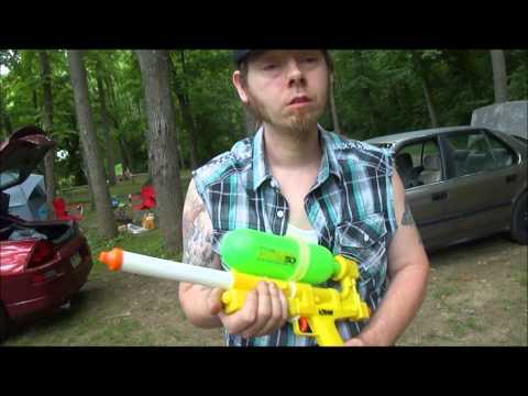 Larami Super Soaker 50, Vintage 1989 Water Gun Review, and Test