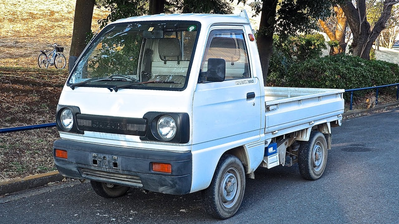 876beeab549902 1990 Suzuki Carry Kei Truck (USA Import) Japan Auction Purchase Review