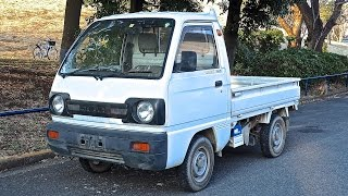 1990 Suzuki Carry Kei Truck (USA Import) Japan Auction Purchase Review