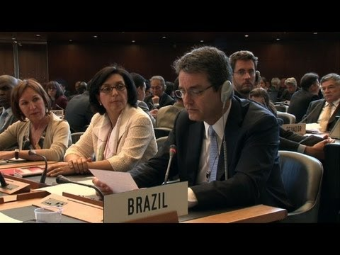 Brazilian Azevedo vows to revive WTO