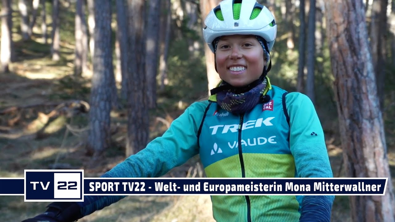 SPORT TV22: Die Tirolerin Mona Mitterwallner ist Welt- & Europameisterin Cross Country Mountainbiken