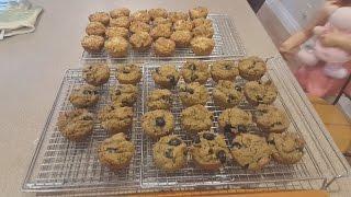 Gluten Free Muffins! - Banana Blueberry & Pizza Flavour