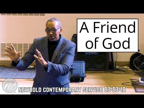 A Friend of God by Patrick Johnson | Newbold CS