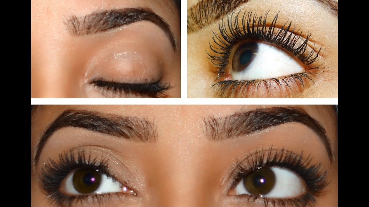 HOW TO: Grow Thicker/Stronger Lashes and Eyebrows! - YouTube