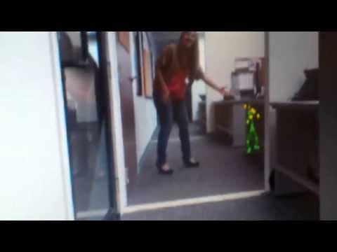 Kinect detect child ghost / Kinect detecta niño fantasma
