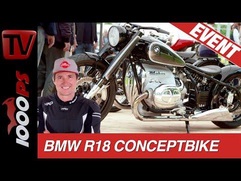 Concorso 1800ccm Boxer Cruiser von BMW - Concept R18 - Kommt 2020 in Serie