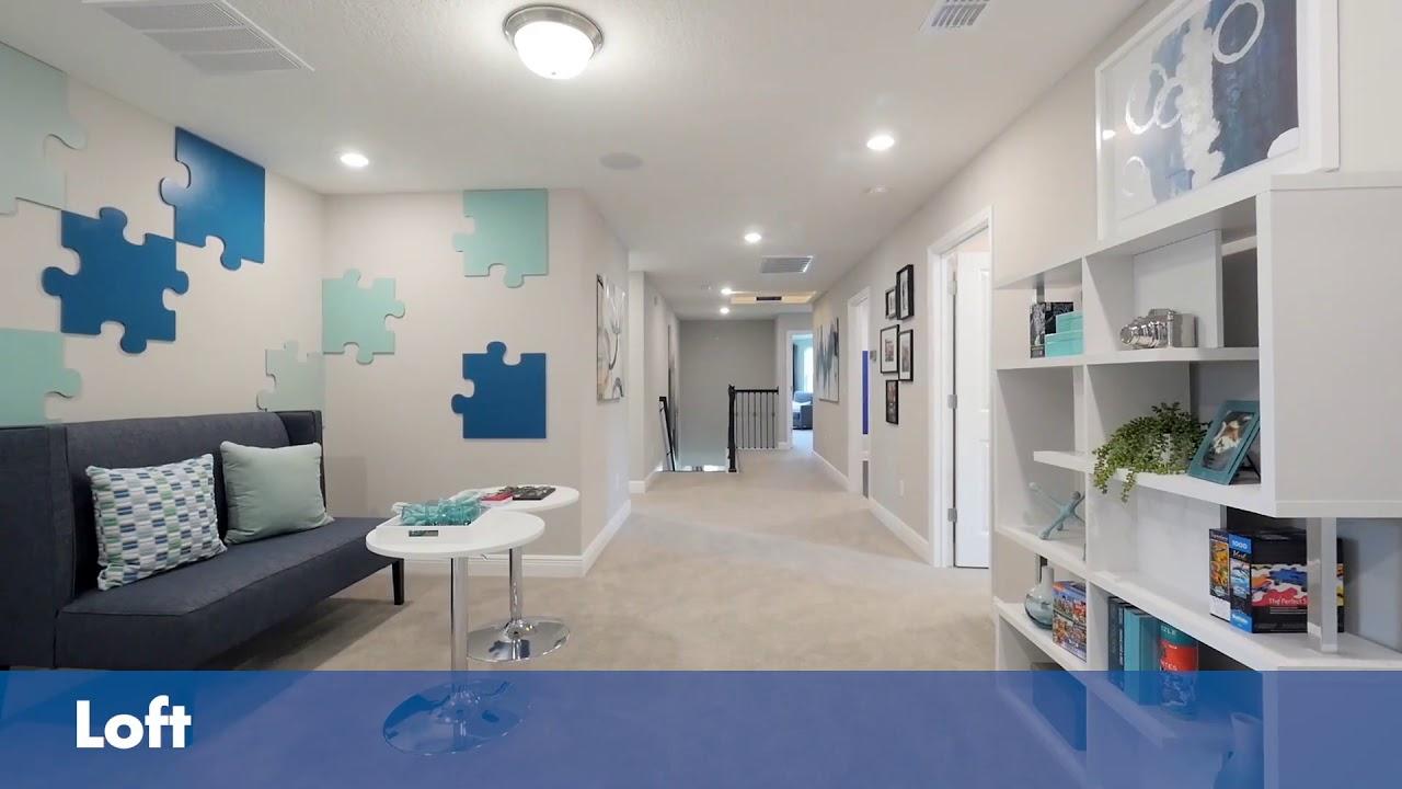 The Jackson Floor Plan | Oakmont Reserve in Longwood, FL | Meritage Homes