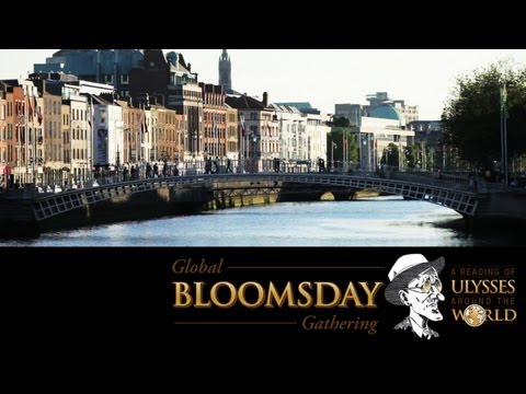 Global Bloomsday Gathering -- James Joyce Centre and National Library, Dublin, Ireland