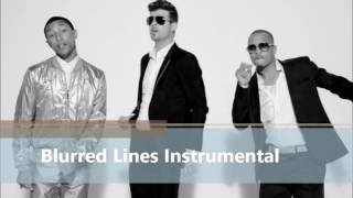 Robin Thicke Feat Pharrell+ T.I. BLURRED LINES Instrumental W Download (JSmoothSoul Cover)