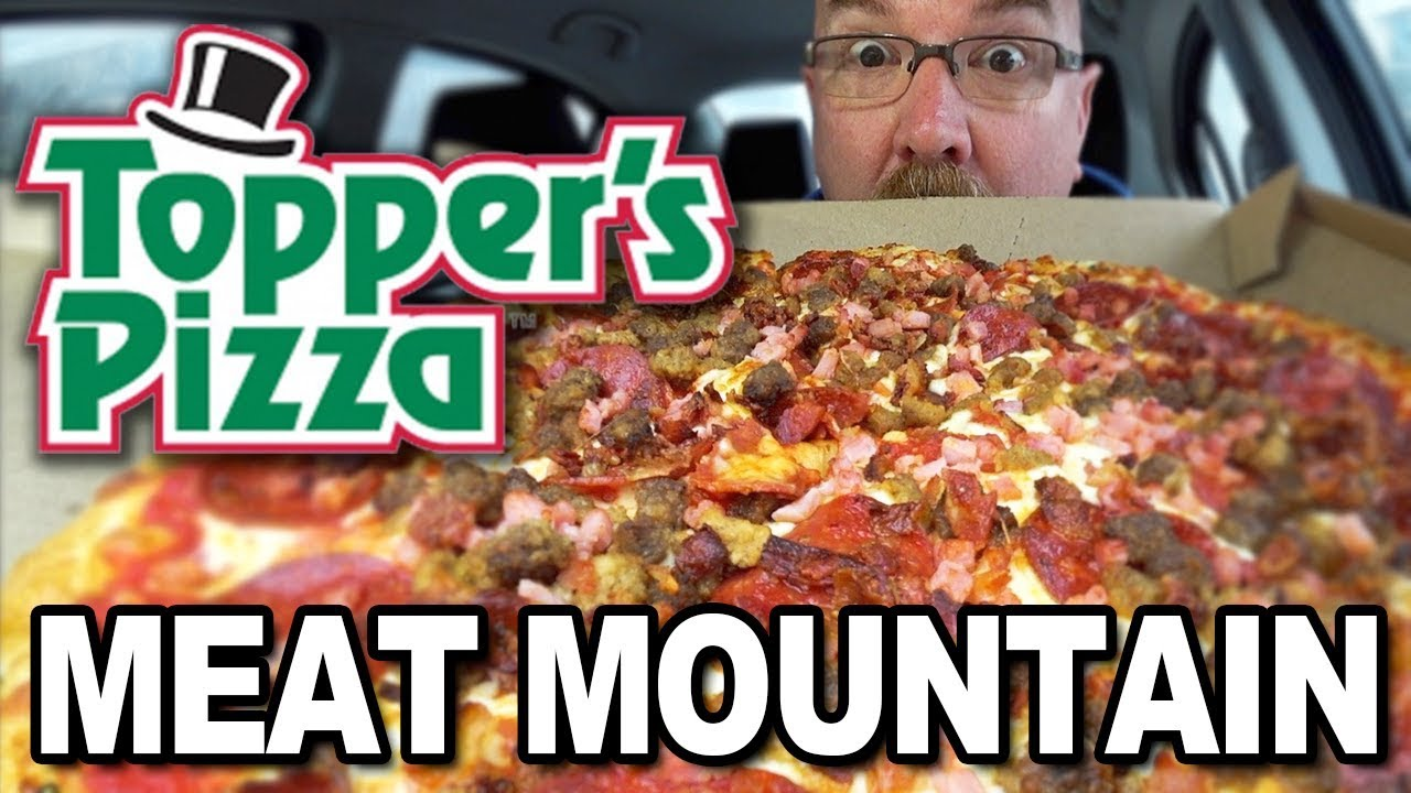 Topper's Pizza ???? MEAT MOUNTAIN & EXTREME CHEEZY STICKS™