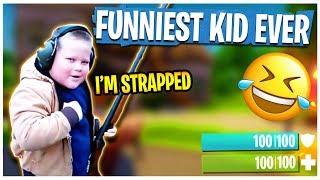 THE FUNNIEST KID in FORTNITE EVER! - Fortnite: Battle Royale | TBNRKENWORTH