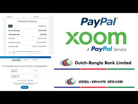 How To Sign Up Xoom Account And Transfer PayPal Money In Bangladesh