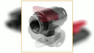 G1/4 Thread PC Water Cooling Shutoff Valve Water Ball Valve Waterway Control