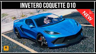 GTA 5 ONLINE: INVETERO COQUETTE D10 - ОБЗОР НОВОГО СПОРТКАРА