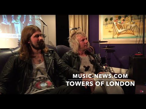 Towers Of London I Interview I Music-News.com