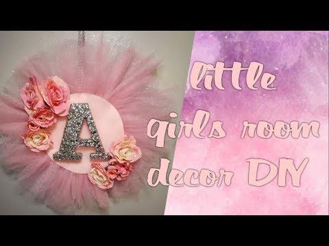 little girl room decor DIY