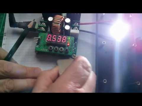 LED Tutorial: Plotting the IV Curve for a 10W LED