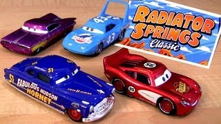 "Radiator Springs Classic Cars Toys""R""us TRU Diecast Disney Pixar 2013 toys review by Blucollection"