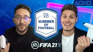 ¡Consigue una PS5 con FIFA 21! Summer of Football con Spursito y Cacho01 | PlayStation España