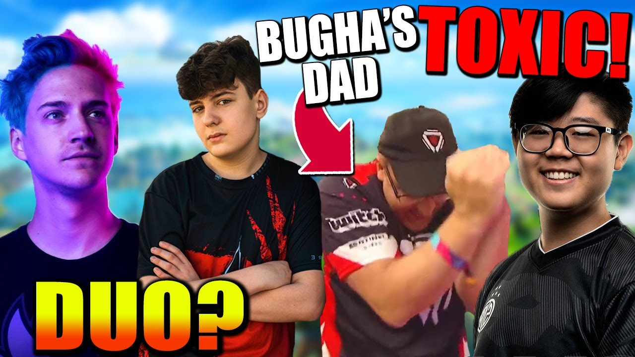 """Khanada CALLS OUT Bugha's Dad For """"Leeching""""! Clix & Ninja FNCS Duo?? Epic LOSING to Apple?"""