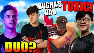 "Khanada CALLS OUT Bugha's Dad For ""Leeching""! Clix & Ninja FNCS Duo?? Epic LOSING to Apple?"