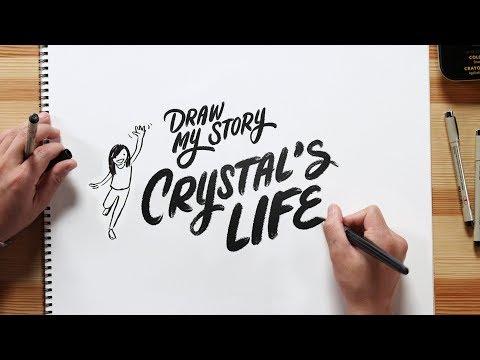 Crystal's Life | Draw My Story | HiHo Kids