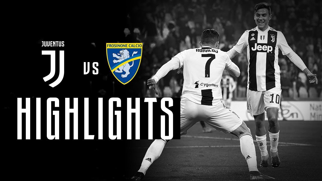 Download HIGHLIGHTS: Juventus vs Frosinone - 3-0 - Third goal & assist in a row for CR7